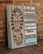 I Am Because You Are So Much Of Me Daughter To Dad 11x14 Gallery Wrapped Canvas Prints aos-canvas-pgw-11x14-lifestyle-front-09