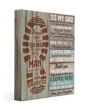 I Am Because You Are So Much Of Me Daughter To Dad 11x14 Gallery Wrapped Canvas Prints front