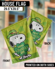 """Happy Patrick's Day 29.5""""x39.5"""" House Flag aos-house-flag-29-5-x-39-5-ghosted-lifestyle-07"""