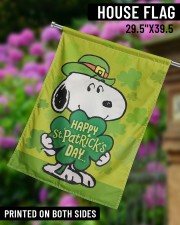 """Happy Patrick's Day 29.5""""x39.5"""" House Flag aos-house-flag-29-5-x-39-5-ghosted-lifestyle-14"""