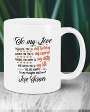 Personalized Missing You Is My Hobby  Mug ceramic-mug-lifestyle-05