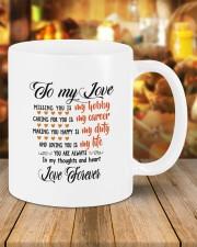 Personalized Missing You Is My Hobby  Mug ceramic-mug-lifestyle-09
