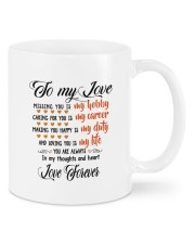 Personalized Missing You Is My Hobby  Mug front