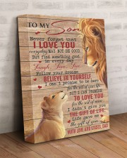 Never Forget That I Love U Lion Dad To Son 11x14 Gallery Wrapped Canvas Prints aos-canvas-pgw-11x14-lifestyle-front-07