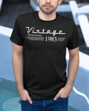 vingate classic 1983 Classic T-Shirt apparel-classic-tshirt-lifestyle-front-45