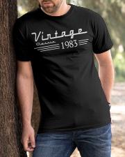 vingate classic 1983 Classic T-Shirt apparel-classic-tshirt-lifestyle-front-51