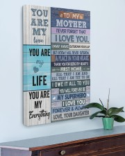 I Love You Forever Mother's Day Daughter To Mom 20x30 Gallery Wrapped Canvas Prints aos-canvas-pgw-20x30-lifestyle-front-01