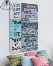 I Love You Forever Mother's Day Daughter To Mom 20x30 Gallery Wrapped Canvas Prints aos-canvas-pgw-20x30-lifestyle-front-02