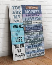 I Love You Forever Mother's Day Daughter To Mom 20x30 Gallery Wrapped Canvas Prints aos-canvas-pgw-20x30-lifestyle-front-14