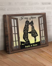Daughter To Mom I Am Because You Are Custom 20x16 Gallery Wrapped Canvas Prints aos-canvas-pgw-20x16-lifestyle-front-07