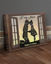 Daughter To Mom I Am Because You Are Custom 20x16 Gallery Wrapped Canvas Prints aos-canvas-pgw-20x16-lifestyle-front-10