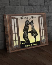 Daughter To Mom I Am Because You Are Custom 20x16 Gallery Wrapped Canvas Prints aos-canvas-pgw-20x16-lifestyle-front-11