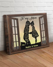 Daughter To Mom I Am Because You Are Custom 20x16 Gallery Wrapped Canvas Prints aos-canvas-pgw-20x16-lifestyle-front-14