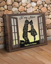 Daughter To Mom I Am Because You Are Custom 20x16 Gallery Wrapped Canvas Prints aos-canvas-pgw-20x16-lifestyle-front-18