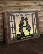 Daughter To Mom I Am Because You Are Custom 20x16 Gallery Wrapped Canvas Prints aos-canvas-pgw-20x16-lifestyle-front-19