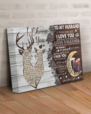 Never Forget That I Love You To Husband 14x11 Gallery Wrapped Canvas Prints aos-canvas-pgw-14x11-lifestyle-front-07