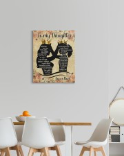 Never Feel That You Are Alone Mom To My Daughter  16x20 Gallery Wrapped Canvas Prints aos-canvas-pgw-16x20-lifestyle-front-05