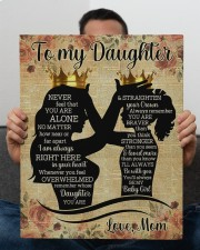 Never Feel That You Are Alone Mom To My Daughter  16x20 Gallery Wrapped Canvas Prints aos-canvas-pgw-16x20-lifestyle-front-25