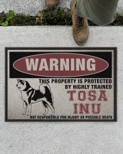 """tosa this property is protected Doormat 22.5"""" x 15""""  aos-doormat-22-5x15-lifestyle-front-01"""