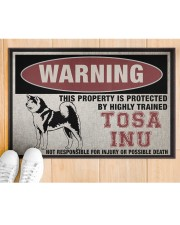 """tosa this property is protected Doormat 22.5"""" x 15""""  aos-doormat-22-5x15-lifestyle-front-03"""