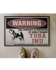 """tosa this property is protected Doormat 22.5"""" x 15""""  aos-doormat-22-5x15-lifestyle-front-04"""