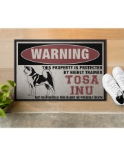 """tosa this property is protected Doormat 22.5"""" x 15""""  aos-doormat-22-5x15-lifestyle-front-12"""