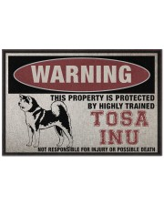 """tosa this property is protected Doormat 22.5"""" x 15""""  front"""