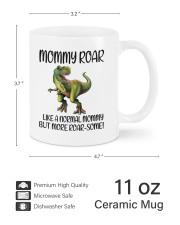Mommy Roar Like A Normal Mommy To Mom Mug ceramic-mug-lifestyle-62