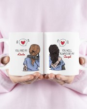 You Are My Name U'll Be My Angel To Friend Custom  Mug ceramic-mug-lifestyle-30