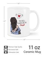 You Are My Name U'll Be My Angel To Friend Custom  Mug ceramic-mug-lifestyle-62