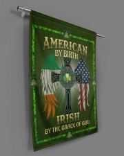 """American By Birth Irish By Grace Of God 29.5""""x39.5"""" House Flag aos-house-flag-29-5-x-39-5-ghosted-lifestyle-18"""
