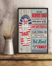 You Didn't Give Me The Gift Of Life To Bonus Dad 11x17 Poster lifestyle-poster-3