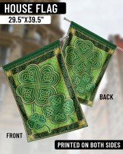 """Shamrock Pattern 29.5""""x39.5"""" House Flag aos-house-flag-29-5-x-39-5-ghosted-lifestyle-02"""
