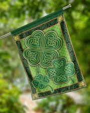 """Shamrock Pattern 29.5""""x39.5"""" House Flag aos-house-flag-29-5-x-39-5-ghosted-lifestyle-17"""