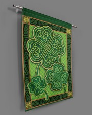 """Shamrock Pattern 29.5""""x39.5"""" House Flag aos-house-flag-29-5-x-39-5-ghosted-lifestyle-18"""