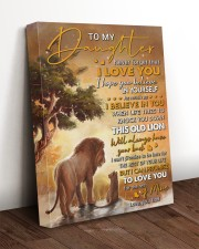 Never Forget That I Love You Lion Dad To Daughter 16x20 Gallery Wrapped Canvas Prints aos-canvas-pgw-16x20-lifestyle-front-17