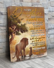 Never Forget That I Love You Lion Dad To Daughter 16x20 Gallery Wrapped Canvas Prints aos-canvas-pgw-16x20-lifestyle-front-20