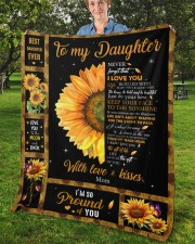 """Never Forget That I Love You Mom To Daughter Fleece Blanket - 50"""" x 60"""" aos-coral-fleece-blanket-50x60-lifestyle-front-02b"""