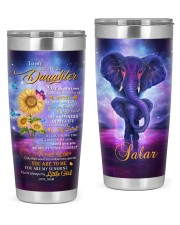 Personalized Name Once Upon A Time Mom To Daughter 20oz Tumbler front