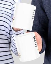 Personalized Thanks For Putting Up Daughter To Mom Mug ceramic-mug-lifestyle-43