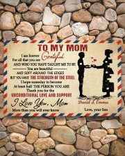Son To Mom I Am Forever Grateful For All Custom 17x11 Poster aos-poster-landscape-17x11-lifestyle-15
