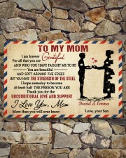 Son To Mom I Am Forever Grateful For All Custom 17x11 Poster aos-poster-landscape-17x11-lifestyle-16