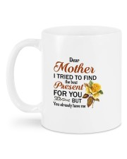 I Tried To Find The Best Present Daughter To Mom Mug back