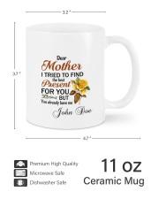 I Tried To Find The Best Present Daughter To Mom Mug ceramic-mug-lifestyle-62