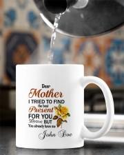I Tried To Find The Best Present Daughter To Mom Mug ceramic-mug-lifestyle-64