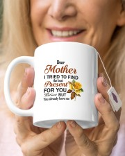 I Tried To Find The Best Present Daughter To Mom Mug ceramic-mug-lifestyle-67
