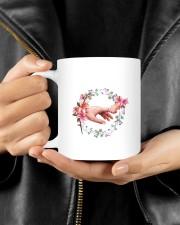 Dear Mom Thanks 4  Putting Up Daughter To Mom Mug ceramic-mug-lifestyle-25
