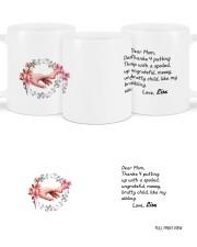 Dear Mom Thanks 4  Putting Up Daughter To Mom Mug ceramic-mug-lifestyle-46