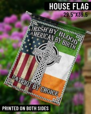 """Irish By Blood American By Birth Patriot By Choice 29.5""""x39.5"""" House Flag aos-house-flag-29-5-x-39-5-ghosted-lifestyle-14"""
