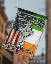 """Irish By Blood American By Birth Patriot By Choice 29.5""""x39.5"""" House Flag aos-house-flag-29-5-x-39-5-ghosted-lifestyle-15"""
